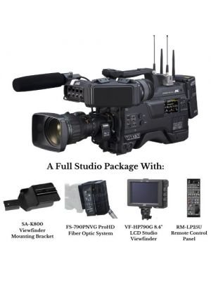 JVC GY-HC900RCHE Studio live streaming ENG HD camcorder with Studio Package