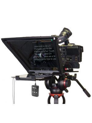 Datavideo TP-650 Large Screen Prompter Kit for ENG Cameras
